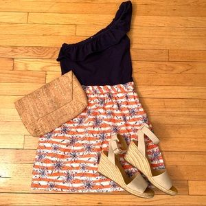 Lily Pulitzer Dionne One Shoulder Dress